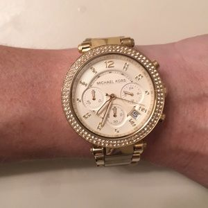 Perfect condition! Michael Kors gold watch